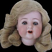C.M. Bergman Spezial Bisque Doll Head