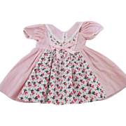 """Vintage Doll Dress for your 13-14"""" Doll"""