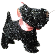 Miniature Black Terrier Dog for your French Fashion Doll