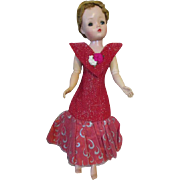 Vintage Factory Made Dress for your Vintage Fashion Doll - Cissy or Miss Revlon