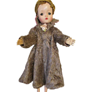 Stunning Faux Fur Coat for Cissy