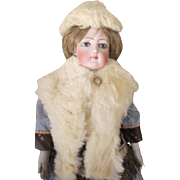 Antique Fur Stole and Cap for Your French Fashion Doll