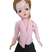 Pink Cotton Sweater for Your Cissy Doll