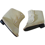 Heeled Doll Boots for Your Antique Doll