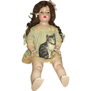 Thank you M! Large Composition Century Mama Doll in Original Outfit