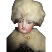 Fur Cape and Bonnet for Your French Fashion Doll