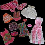 Vintage Mod Barbie Clothes - Nice Assortment