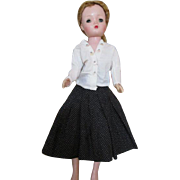 """Vintage Skirt and Sweater For 20"""" Cissy"""