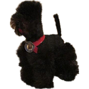 Miniature Black Dog for your French Fashion Doll