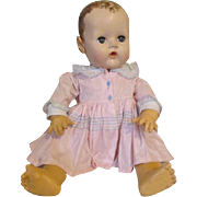 Large Dy Dee Baby Doll for Parts or Display