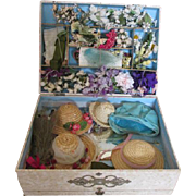 Sweet Milliner's Kit for Making Doll Bonnets