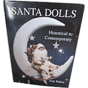 Santa Dolls book by Ann Bahar - Red Tag Sale Item