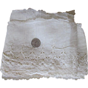 Wide Lace for Your Antique Dolls