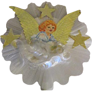 Victorian Style Scrap Paper Angel Tree Topper