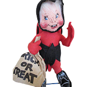 Sweet Cloth Annalee Halloween Lady Bug Trick or Treat Doll