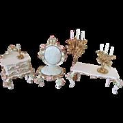 German Spielwaren Doll House Furniture