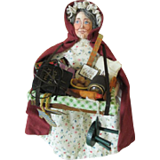 Artist Peddler Doll - Wonderful Detail