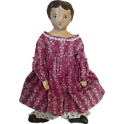 Sweet Oil Painted Cloth Doll