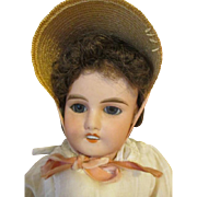 Antique French Doll with Pretty Face