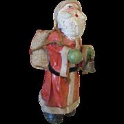 Antique Paper Mache Santa Claus for Your Dolls