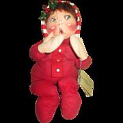 Cloth Annalee Baby Doll