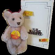 "Little Steiff 4"" Cub Bear in Original Box"
