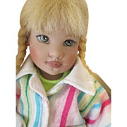 Helen Kish Riley's World Collection - Explorer Avery Doll