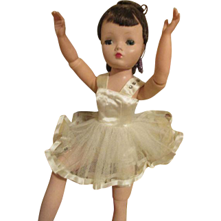 Vintage Ballet Outfit for Your Cissy Doll