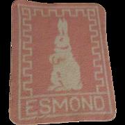 Effanbee Dy-Dee Baby Esmond Bunny Blanket