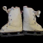 1930's Madame Alexander Sonja Henie Doll Ice Skates