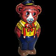 Tin Litho Dancing Bear