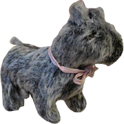 Darling Mohair Dog for Your Antique Doll