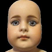 Antique Solid Dome Shoulder Doll Head