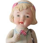 Antique Nippon All Bisque Doll