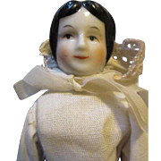 Sweet China Head Doll in Original Outfit