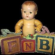 Vintage F N B Blocks for Your Effanbee Doll Display