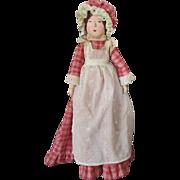 Vintage Artist Peg Wooden Doll