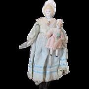 Vintage Bonnet Head Doll with Bonnet Head Doll