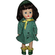Vintage Pam Doll in Girls Scout Outfit