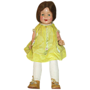"26"" Vintage Composition Mama Doll in Original Outfit"