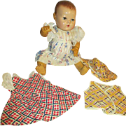 Three Vintage Outfits for Your Dy Dee Baby Doll