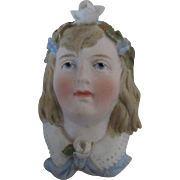 Pretty Vintage Doll Faced Pin