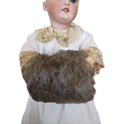 Faux Fur Hand Muff for your Fashion Doll