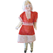 Miniature Solid Dome Bisque Head Doll