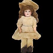 Sweet Antique German Bisque Head Doll