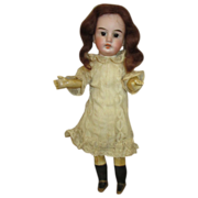 Antique Bisque Head Doll by Gebruder Kuhnlenz