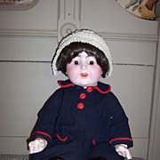 Darling Antique K&K German Doll on Cloth Body