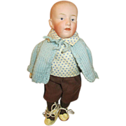 Tiny G. Heubach Solid Dome Doll - Sweet Expression