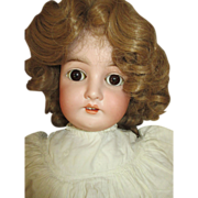 "Antique Queen Louise Doll - 25""  Tall - Pretty Face"