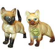 Set of Vintage Cats for Doll Props